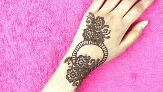 Simple Easy Mehndi Design For Hands | Latest Mehndi Design By Cumri