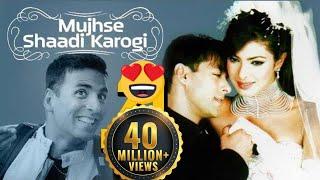 Mujhse Shaadi Karogi - Superhit Comedy Film & Songs - Salman Khan - Priyanka Chopra - Akshay Kumar