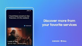 Bixby: How to discover more from your favorite services