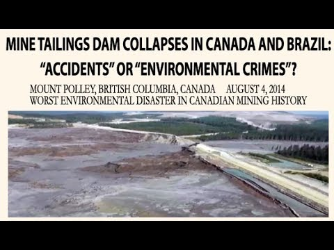 Xxx Mp4 Mine Tailings Dam Collapses In Canada And Brazil 1 2 3gp Sex