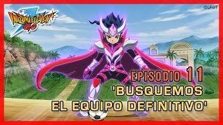 Inazuma Eleven Go Chrono Stones - Episodio 11 español «¡Busquemos al Equipo Definitivo»