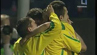 QWC 2010 Lithuania vs. Faroe Islands 1-0 (15.10.2008)