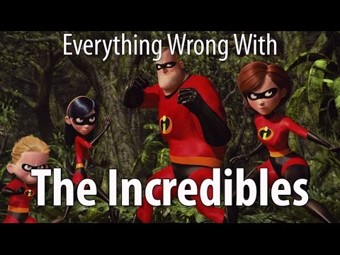 Everything Wrong With The Incredibles In 10 Minutes Or Less