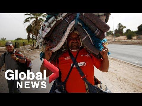 Xxx Mp4 Caravan Migrants Move From Mexicali To Tijuana 3gp Sex
