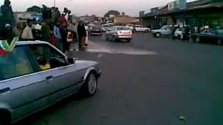 BMW spinning in SOWETO