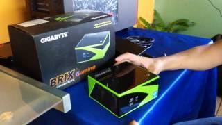 GIGABYTE Brix con Nvidia GeForce GTX 760 - Unboxing y Revisión