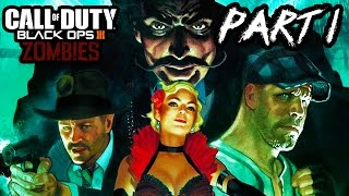 Call of Duty Black Ops 3 Zombies Gameplay Part 1 - THE BEAST!! (Shadows Of Evil Part 1 PS4 1080p)