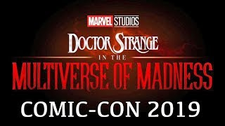 Marvel's Doctor Strange in the Multiverse of Madness SDCC reveal (2021) MCU Phase 4