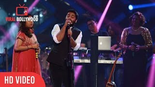 Arijit Singh LIVE Performance At GIMA Awards 2016 With Armaan and Amaal Malik, Badshah