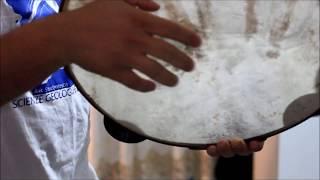 Come suonare la Pizzica con il tamburello (basso Salento)