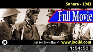Watch: Sahara (1943) Full Movie Online