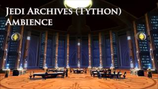 Jedi Temple Archives on Tython (1 hour) - Star Wars Background Ambience