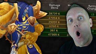 THE DAMAGE DANCE - Warrior Rated 3v3 Arenas w/ Monk & Shaman - Legion 7.2