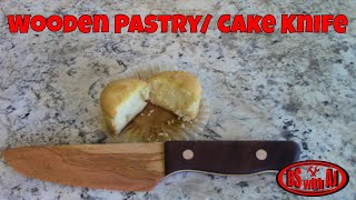 Wooden Pastry/ Cake Knife