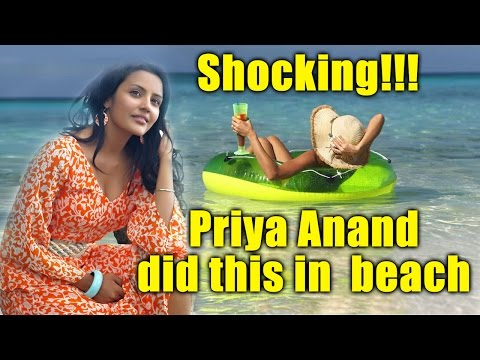 Priya Anand Looking Hot on Beach | Playing with Dog | Video Inside | Exclusive Footage