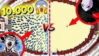 🔥 ¡10.000 GOKUS VS JIREN! 😱 ¡ULTRA INSTINTO!   BATALLAS ÉPICAS EN COLISEO! #1 (XBOX360/ONE/PE/PS4)