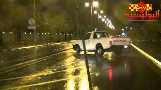 تزلج ابوفيصل على الغمارة شوارع عامة تصوير البوليسية | HD