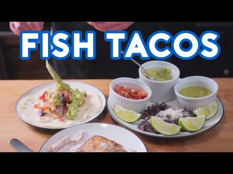 Binging with Babish Fish Tacos from I Love You Man