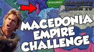 Trying to Remake The Macedonian Empire on Hearts of Iron 4 Hoi4