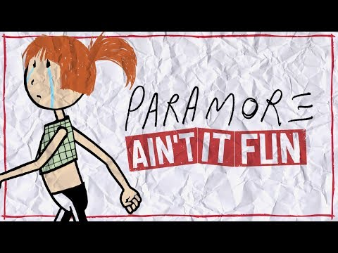 Paramore Ain t It Fun Lyric Video