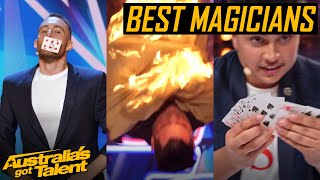 The BEST MAGIC Tricks of AGT 2019 | Magicians | Australia