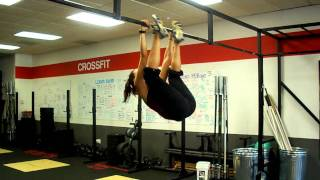 Team CrossFit - Toes to bar