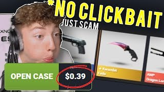 THE $50 FREE SKINS SCAM