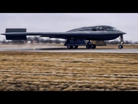 B-2 Bomber Returns From Strike Mission Over Libya