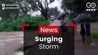 Odisha Hit By Cyclonic Storm