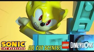 Sonic LEGO Dimensions All Cutscenes Sonic The Hedgehog Level Pack