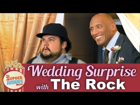 Xxx Mp4 Dwayne The Rock Johnson S Wedding Surprise 3gp Sex