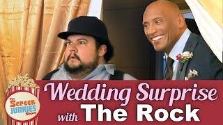 Dwayne 'The Rock' Johnson's Wedding Surprise!
