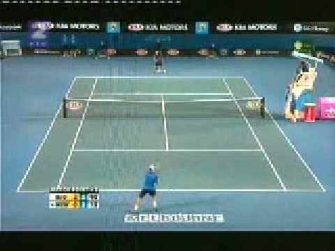 Novak Djokovic vs  Lleyton Hewitt Australian Open 2008