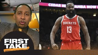 Stephen A. Smith wants James Harden for MVP: He is nothing short of sensational | First Take | ESPN