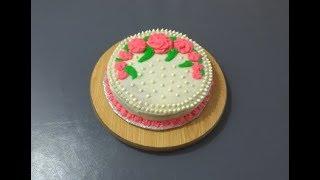Easy Buttercream Icing Recipe - Perfect Vanilla Buttercream Frosting    طرز تهیهٔ آسان کریم کیک