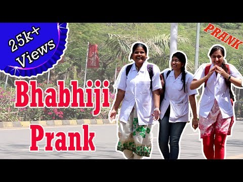 Calling Cute Girls 'Bhabhiji' Prank | Pranks In India | Puneri Boys Killer Production