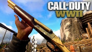 ROAD TO CHROME (GOLD SAWED OFF SHOTGUN) - Call of Duty: WW2 Multiplayer Gameplay LIVE (PS4 PRO)