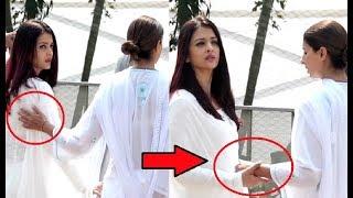 Aishwarya Rai And Shweta Nanda PATCH UP At Sridevi Condolence Meet