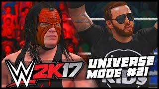 WWE 2K17 | Universe Mode - 'THE PYRO-BLOCKER!' | #21