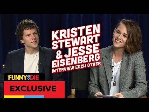 Kristen Stewart and Jesse Eisenberg's Awkward Interview