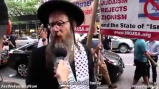 Jews supporting Palestine & protesting against Israeli Zionist crimes against humanity