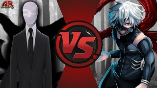 SLENDERMAN vs KANEKI KEN! (Creepypasta vs Tokyo Ghoul) Cartoon Fight Club Episode 180