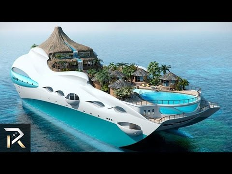 10 Unbelievable Boats Only The Richest