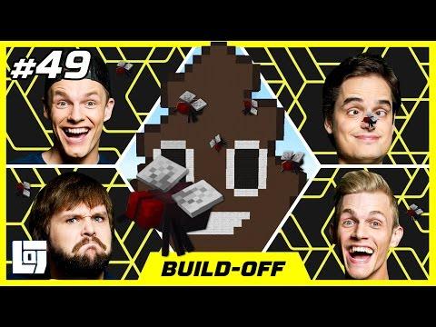 Minecraft Build off met Milan Don Sam en Enzo XL Battle LOGNL 49