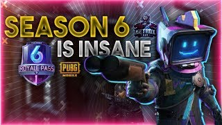 🔴 PUBG MOBILE LIVE - SEASON 6 RANK PUSH TO CONQUEROR || #gg #chicken 🔴