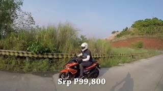 The Yamaha Aerox155. The most powerfull stock Mio to date.