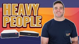 Best Mattress For Heavy & Obese People 2019 (TOP 6 BEDS)
