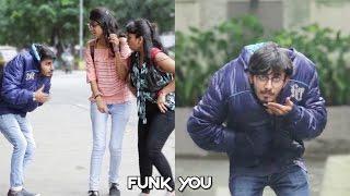 Epic Head Drop Magic Prank on Girls - Funk You (Pranks In India)