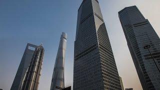 Skyscrapers at Lujiazui - Shanghai, China