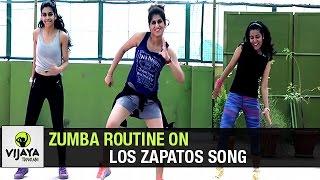 Zumba Routine on Los Zapatos Song   Zumba Dance Fitness   Choreographed by Vijaya Tupurani